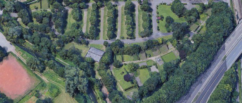 Beplanung eines Geländes in Karlsruhe